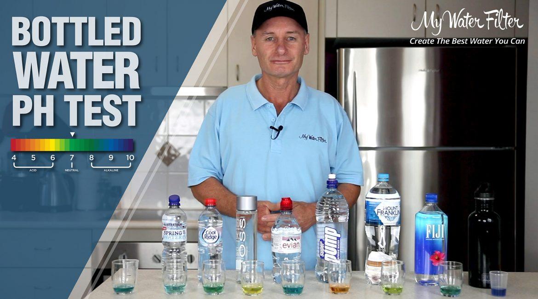bottled water ph test